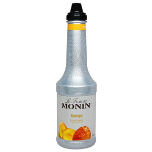 Monin Mango Fruit Pure (1L)-Liquid Base & Purees-monin-Carry Out Supplies
