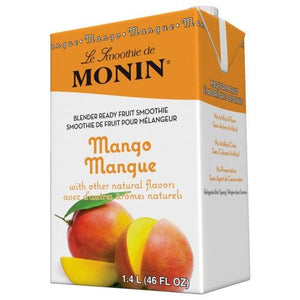Monin Mango Fruit Smoothie Mix (46oz)-Liquid Base & Purees-monin-Carry Out Supplies
