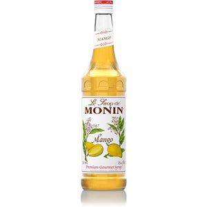 Monin Mango Syrup Bottle - 750ml-Syrups-monin-Carry Out Supplies