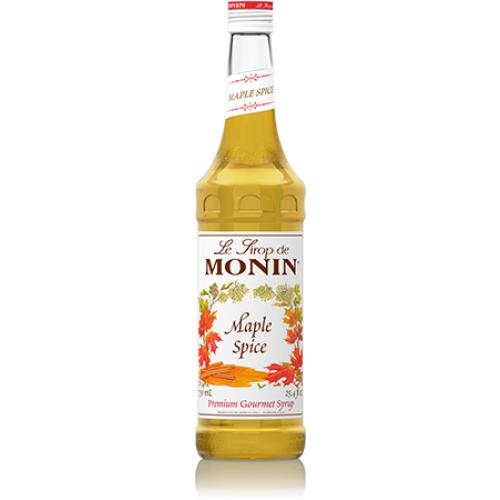 Monin Maple Spice Syrup Bottle - 750ml-Syrups-monin-Carry Out Supplies