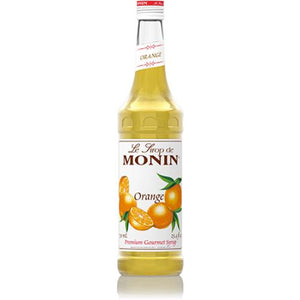 Monin Orange Syrup Bottle - 750ml-Syrups-monin-Carry Out Supplies
