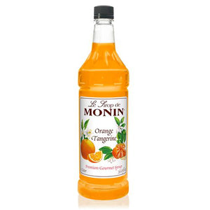 Monin Orange Tangerine Syrup Bottle - 1 Liter-Syrups-monin-Carry Out Supplies