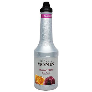 Monin Passion Fruit Pure (1L)-Liquid Base & Purees-monin-Carry Out Supplies