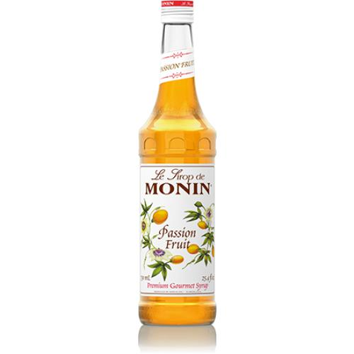Monin Passion Fruit Syrup Bottle - 750ml-Syrups-monin-Carry Out Supplies