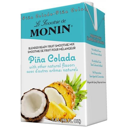 Monin Pina Colada Smoothie Mix (46oz)-Liquid Base & Purees-monin-Carry Out Supplies