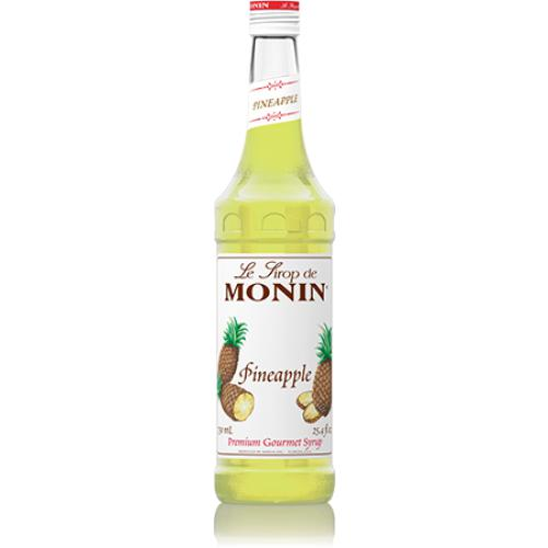 Monin Pineapple Syrup Bottle - 750ml-Syrups-monin-Carry Out Supplies