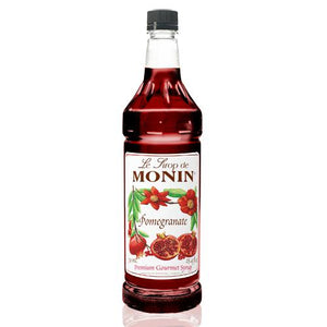 Monin Pomegranate Syrup Bottle - 1 Liter-Syrups-monin-Carry Out Supplies