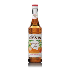 Monin Pumpkin Pie Syrup Bottle - 750ml-Syrups-monin-Carry Out Supplies