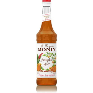 Monin Pumpkin Spice Syrup Bottle - 750ml-Syrups-monin-Carry Out Supplies