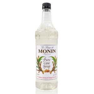 Monin Pure Cane Sweetener Syrup Bottle - 1 Liter-Syrups-monin-Carry Out Supplies