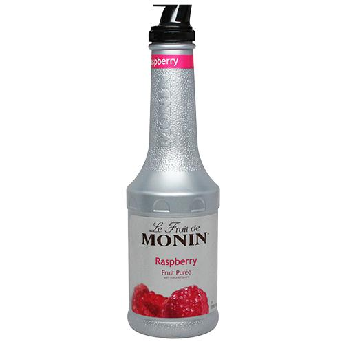 Monin Raspberry Fruit Pure (1L)-Liquid Base & Purees-monin-Carry Out Supplies