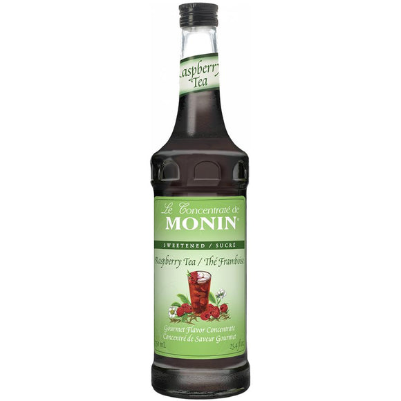 Monin Raspberry Tea Concentrate Syrup Bottle - 750ml-Syrups-monin-Carry Out Supplies