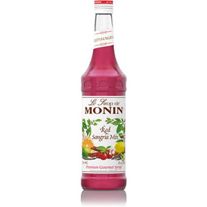 Monin Red Sangria Mix Syrup Bottle - 750ml-Syrups-monin-Carry Out Supplies