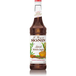 Monin Spiced Brown Sugar Syrup Bottle - 750ml-Syrups-monin-Carry Out Supplies
