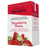 Monin Strawberry Fruit Smoothie Mix (46oz)-Liquid Base & Purees-monin-Carry Out Supplies