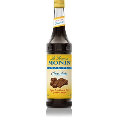 Monin Sugar Free Chocolate Syrup Bottle - 750ml-Syrups-monin-Carry Out Supplies
