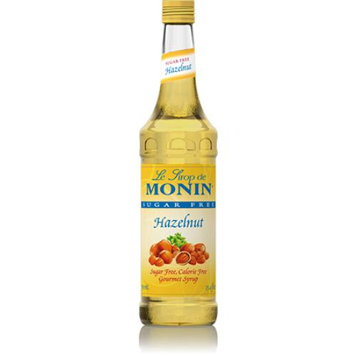 Monin Sugar Free Hazelnut Syrup Bottle - 750ml-Syrups-monin-Carry Out Supplies