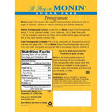 Monin Sugar Free Pomegranate Syrup Bottle - 1 Liter-Syrups-monin-Carry Out Supplies