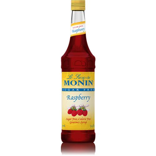Monin Sugar Free Raspberry Syrup Bottle - 750ml-Syrups-monin-Carry Out Supplies