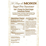 Monin Sugar Free Sweetener Syrup Bottle - 1 Liter-Syrups-monin-Carry Out Supplies