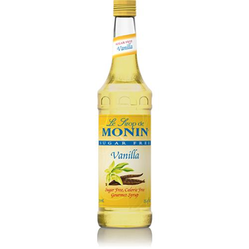 Monin Sugar Free Vanilla Syrup Bottle - 750ml-Syrups-monin-Carry Out Supplies