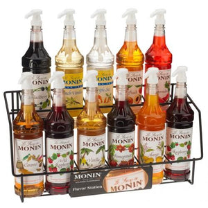 Monin Syrup Wire Rack (11 Bottles)-Syrups-monin-Carry Out Supplies