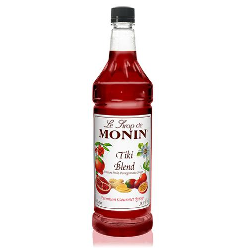Monin Tiki Blend Syrup Bottle - 1 Liter-Syrups-monin-Carry Out Supplies