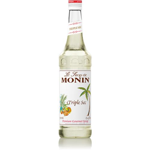Monin Triple Sec Syrup Bottle - 750ml-Syrups-monin-Carry Out Supplies