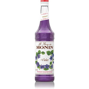 Monin Violet Syrup Bottle - 750ml-Syrups-monin-Carry Out Supplies