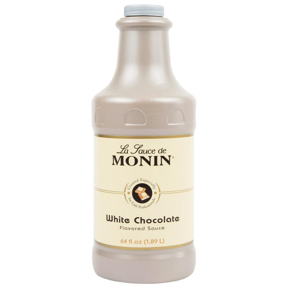 Monin White Chocolate Sauce (64oz)-Sauces-monin-Carry Out Supplies