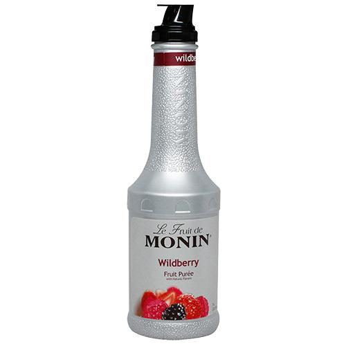 Monin Wildberry Fruit Pure (1L)-Liquid Base & Purees-monin-Carry Out Supplies