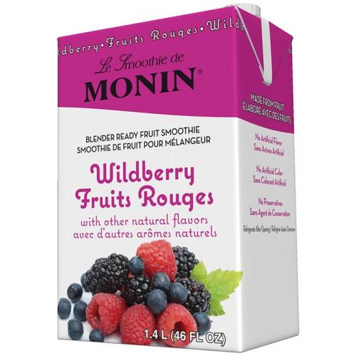 Monin Wildberry Fruit Smoothie Mix (46oz)-Liquid Base & Purees-monin-Carry Out Supplies