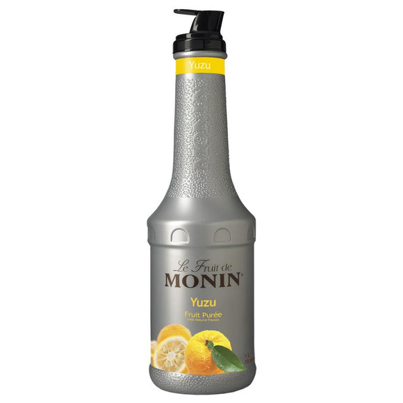 Monin Yuzu Fruit Pure (1L)-Liquid Base & Purees-monin-Carry Out Supplies