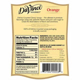 Orange DaVinci Gourmet Syrup Bottle - 750mL-Syrups-DaVinci Gourmet-Carry Out Supplies