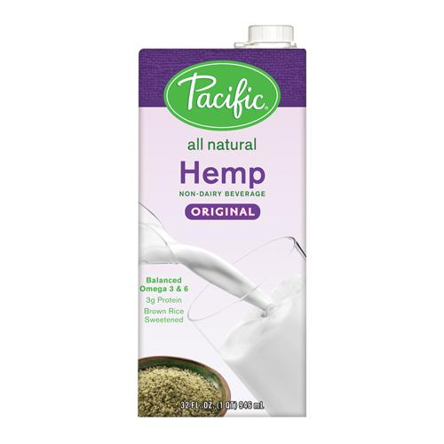 Pacific Hemp Original Non-Dairy Beverage (32oz)-Liquid Base & Purees-Pacific-Carry Out Supplies
