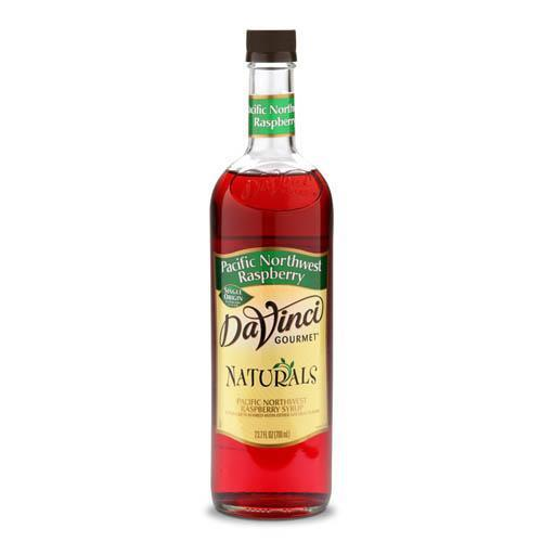 Pacific Northwest Raspberry Natural Single Origin DaVinci Syrup Bottle - 700mL-Syrups-DaVinci Gourmet-Carry Out Supplies