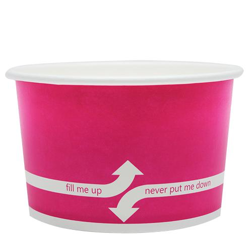 Paper Food Containers - 20oz Food Containers - Pink (127mm) - 600 ct-To-Go Packaging-Karat-No Lids-Carry Out Supplies
