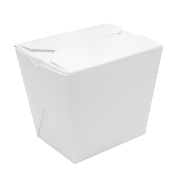 Paper Food Pail 26oz Chinese Take-Out Container - White - 450 Count-To-Go Packaging-Karat-Carry Out Supplies