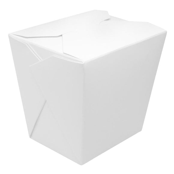 Paper Food Pail 32oz Chinese Take-Out Container - White - 450 Count-To-Go Packaging-Karat-Carry Out Supplies