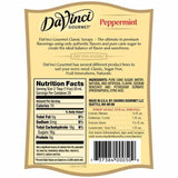 Peppermint DaVinci Syrup Bottle - 750mL-Syrups-DaVinci Gourmet-Carry Out Supplies