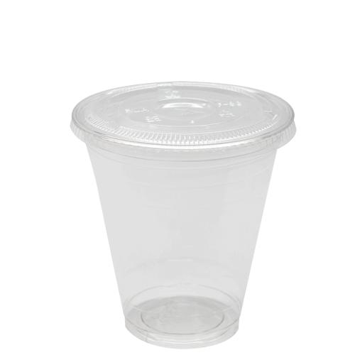 Plastic Cups - 12oz PET Cold Cups and PET Flat Lids (98mm)-Cups & Lids-Karat-Carry Out Supplies