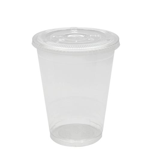 Plastic Cups - 16oz PET Cold Cups and PET Flat Lids (98mm)-Cups & Lids-Karat-Carry Out Supplies