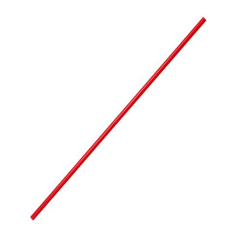 Plastic Straws 7.5'' Stir Straws (3mm) - Red - 5,000 count-Straws & Stirrers-Karat-Carry Out Supplies