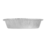 "Small Aluminum Foil Containers - 7"" Round - 500 ct. Karat-Restaurant Supply Drop"