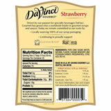 Strawberry DaVinci Gourmet Syrup Bottle - 750mL-Syrups-DaVinci Gourmet-Carry Out Supplies