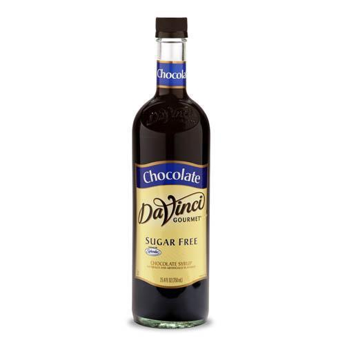 Sugar Free Chocolate DaVinci Syrup Bottle - 750mL-Syrups-DaVinci Gourmet-Carry Out Supplies