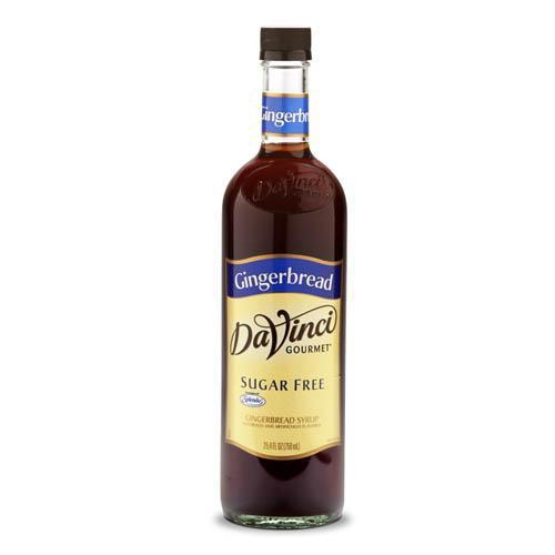 Sugar Free Gingerbread DaVinci Syrup Bottle - 750mL-Syrups-DaVinci Gourmet-Carry Out Supplies