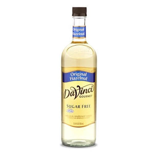 Sugar Free Hazelnut -Original- DaVinci Syrup Bottle - 750mL-Syrups-DaVinci Gourmet-Carry Out Supplies