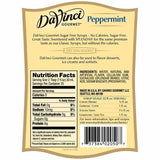Sugar Free Peppermint DaVinci Syrup Bottle - 750mL-Syrups-DaVinci Gourmet-Carry Out Supplies