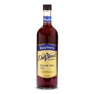 Sugar Free Raspberry DaVinci Syrup Bottle - 750mL-Syrups-DaVinci Gourmet-Carry Out Supplies